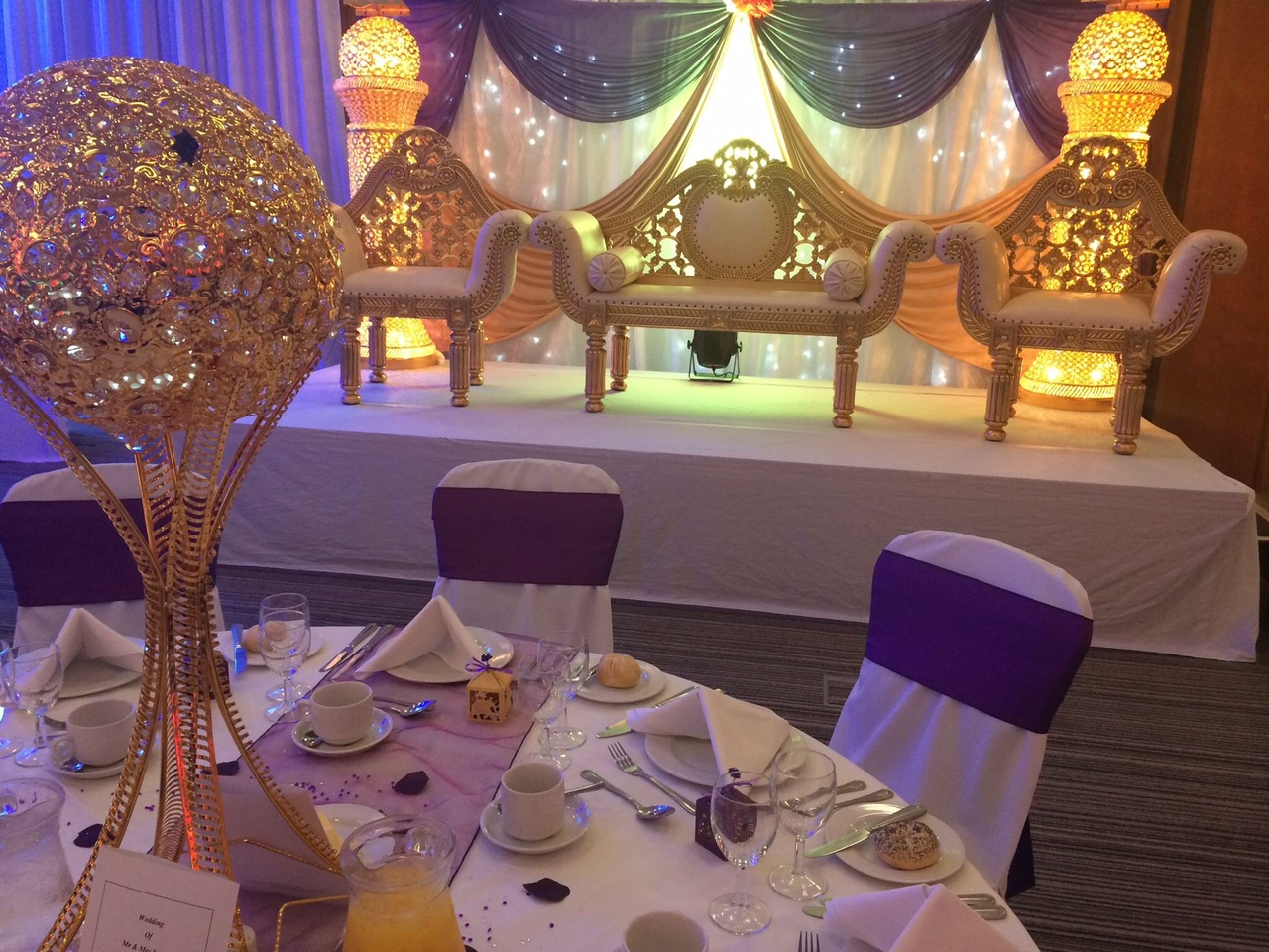 Asian Wedding Reception