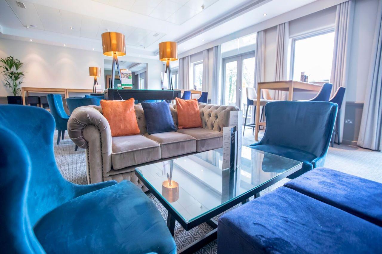 Denham Grove Hotel Reception Area